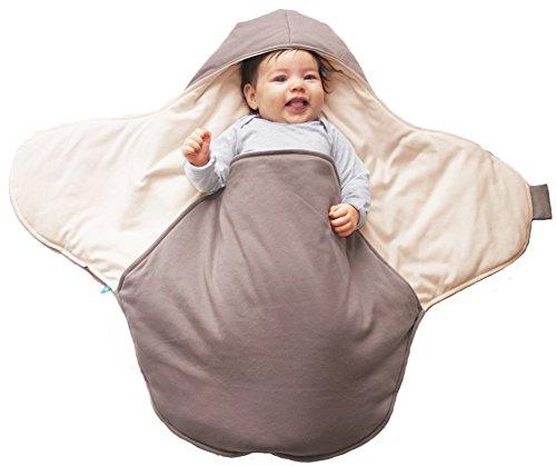 wallaboo-coco-manta-para-bebe-practica-y-suave-85-x-85-cm-100-algodon-taupe