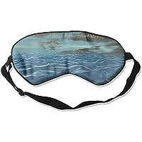 Sleep Eye Mask Sea Wave Lightweight Soft Blindfold Adjustable Head Strap Eyeshade Travel Eyepatch E16 preisvergleich bei billige-tabletten.eu