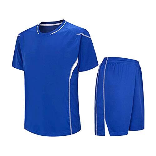 Meijunter Kind Erwachsene Fußball T-Shirt & Shorts Set - Team Training Wettbewerb Sportbekleidung Im Freien Kostüm Soccer Jerseys ()