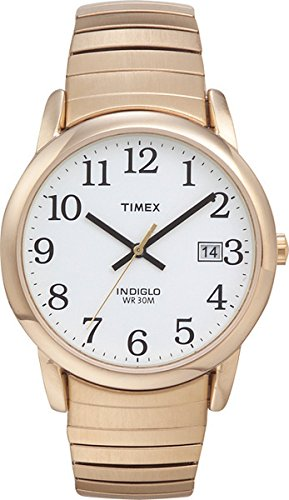 timex-mens-t2h301-quartz-easy-reader-watch-with-white-dial-analogue-display-and-gold-stainless-steel