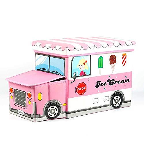 Dow Kinder - Lagerung bänke Art LAGERUNG multifunktions - Spielzeug - Box zum Box - kreativ - Baby Vor der rosa - EIS - Restaurants Buffet-möbel