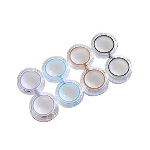 Bunte Kontaktlinse-Kasten Großaugen Lense Box-Halter-Behälter Soak Lagerung Travel Kit für Augenpflege 4pair