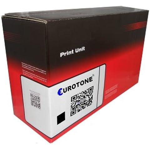 Kompatibler Print Cartidge Eurotone Toner BLACK remanufactured para HP Laserjet (Pro) CP 1025 / Pro 100 + 200 / Topshot Pro M275 - compatibile a CE310A & 126A negro
