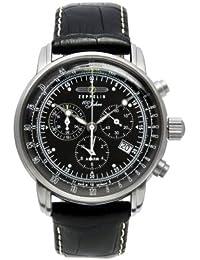 Zeppelin Herren-Armbanduhr 100 Jahre Chronograph Quarz Leder 7680-2