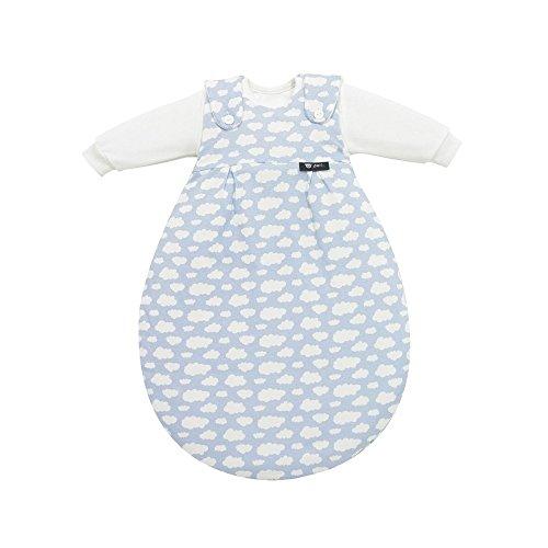 Alvi Baby Mäxchen Schlafsack Außensack Gr. 56/62 Wolke blau