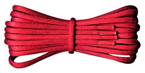 Fabmania 2 mm redondo rojo encerado algodón