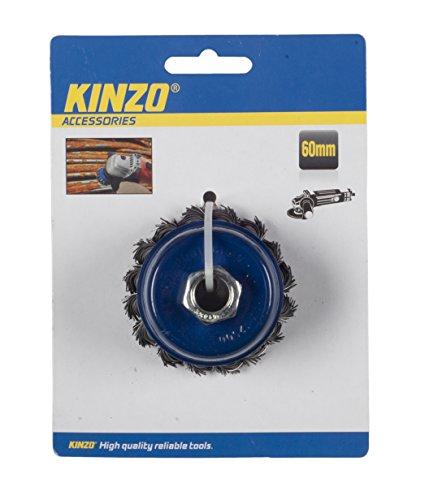 Kinzo 54531 Brosse métallique 60 mm