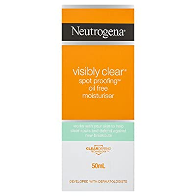 Neutrogena Visibly Clear Spot Proofing Daily Moisturiser, 50 ml