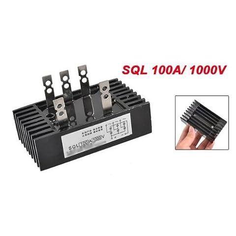 TOOGOO(R) SQL 100A 1000V Rectificateur triphase a pont de diode