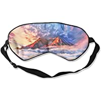Mountain Clouds Artistic Illustration Sleep Eyes Masks - Comfortable Sleeping Mask Eye Cover For Travelling Night... preisvergleich bei billige-tabletten.eu
