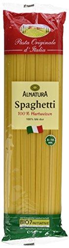 Alnatura Bio Spaghetti Semolato, vegan, 10er Pack (10 x 500 g)