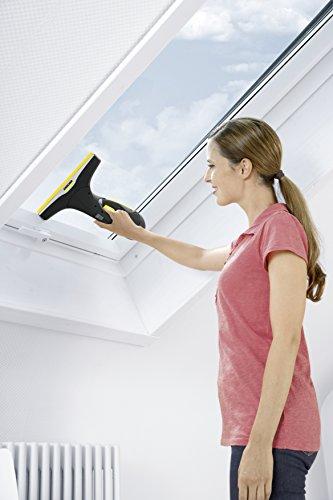 Kärcher Nettoyeur de vitres WV 2 Premium, lave fenêtre sans fil, 2 raclettes incluses, édition spéciale 10 ans +40% d'autonomie