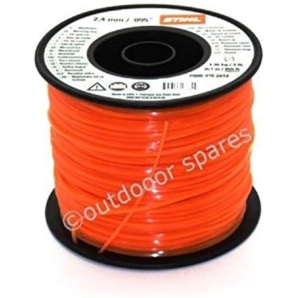 Genuine Stihl 2mm x 80m Round Strimmer Brushcutter Line Cord Wire String