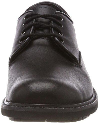 Timberland Stormbucks Plain Toe, Escarpins Stringate Oxford Uomo Nero (noir Lisse 001)