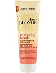 John Frieda Sheer Blonde Soin Démêlant Everlasting Prolongateur de Cheveux Colorés 250 ml