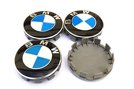 BMW-Coprimozzo-68mm-Portachiavi-Omaggioper-Cerchi-in-LegaTappi-Logo-Serie-1-2-3-4-5-6-7-8-x1-X3-X4-X5-X6-Z3-Z4