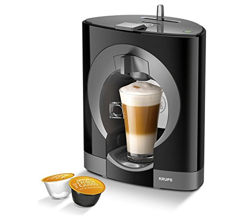 NESCAFE Dolce Gusto Oblo Manual Coffee Machine- Black