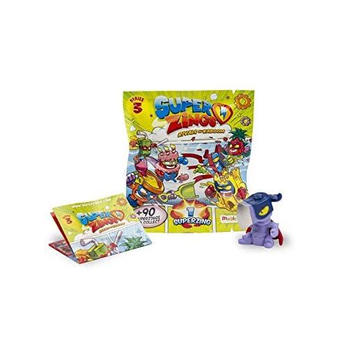 Superzings onepack SERIE PERSONAGGIO DA COLLEZIONE COLORE ASSORTITI Magic Box giocattoli per bambini