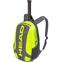Head Elite - Mochila para Raqueta de Tenis, Unisex Adulto, 283759GRNY, Grey/