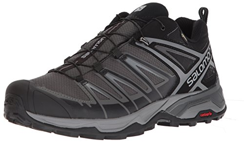Salomon X Ultra 3 GTX, Stivali da Escursionismo Uomo, Nero (Black/Magnet/Quiet Shade 000), 43 1/3 EU