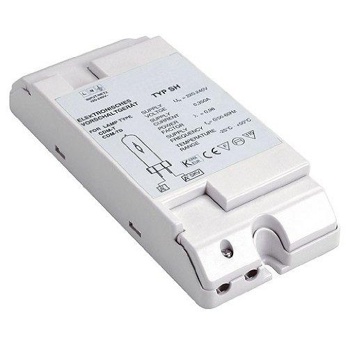 Elektronisches Vorschaltgerät Metalldampflampen (SLV EVG HID für CDM 150 W, 230 V, inklusiv Zugentlastung 470380)