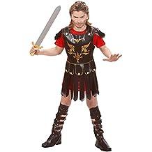 Widmann 73096–Disfraz de gladiador, de talla 5/7años