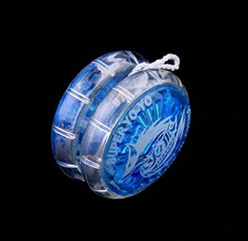 Vi.yo Transparente de Yo-Yo Educación Temprana Rompecabezas Juguetes Tradicionales Yo-Yo Juguetes para Niños