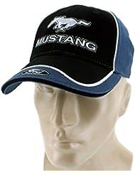 DanteGTS–Casquette ajustable Ford Mustang, noire