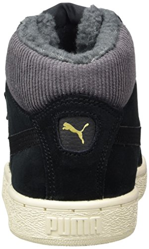 Puma Unisex-Erwachsene 1948 Mid Corduroy Hohe Sneaker Schwarz (Black-Black)