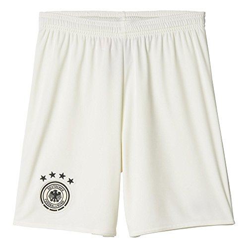 adidas Jungen Heimshort DFB Replica, weiß/schwarz, 164, AA0121 (Brasilien-fußball-schuhe)