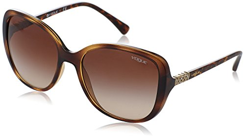 Vogue Eyewear Damen 0VO5154SB W65613 56 Sonnenbrille, Braun (Dark Havana/Browngradient),