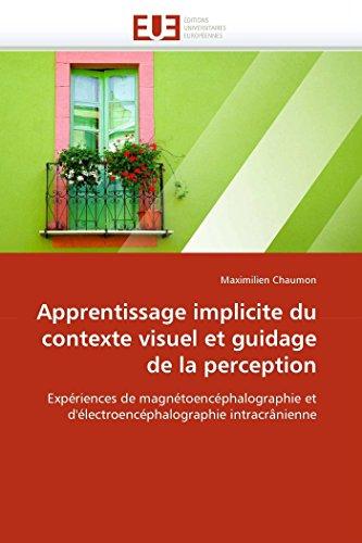 Apprentissage implicite du contexte visuel et guidage de la perception: Expériences de magnétoencéphalographie et d'électroencéphalographie intracrânienne (Omn.Univ.Europ.)