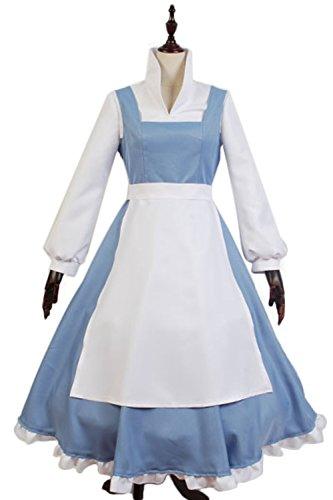 Ditshore-Cosplay Kostüm-Maid Kleid Prinzessin Kostüm Halloween Cosplay Party Outfit (Xxxxl Halloween Kostüme)