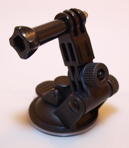 Autohalterung Saugnapf lang Suction Cup Mount für GoPro Hero Kamera (Suction-cup-mount-kamera)