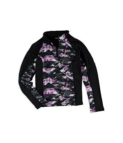 Fila Womens 1/4 Zip Fleece Jacket (Fila Jacke Frauen Fleece)