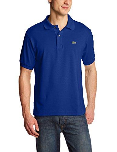Lacoste Herren L1212 Poloshirt  Blau (Capitaine X0U) Large (Herstellergröße:5) - Pique-tennis-shirt