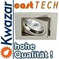 K-23 Halogen Led Aluminium Schwenkbar Einbaulechte Einbauspot 230v 12v von Kwazar Leuchte