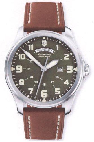 Victorinox 241290 – Reloj de pulsera hombre, color Marrón