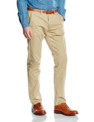 SELECTED HOMME Herren Chino Hose, SHHYARD Slim ST Pants NOOS, Beige (White Pepper), Gr. W31/L34, 16048756
