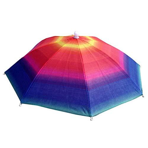 qqyz Faltbare Kopfbedeckung Anti-ultraviolett-schattierung Kinder Regenschirm Sonnenschirm Beach Camping Headwear Umbrella Hut 3 Stück