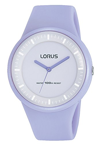 Lorus Women's Analogue Quartz Watch with Silicone Strap RRX23FX9