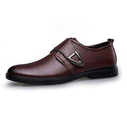gli uomini sono casualmente scarpe uomini scarpe scarpe di pelle uniforme piede le scarpe brown