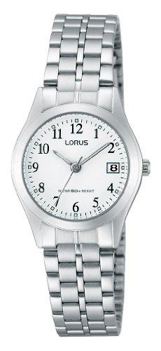 Lorus RH767AX9-Orologio da donna, cinturino in acciaio inox colore...