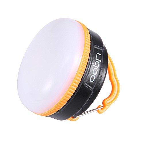 Preisvergleich Produktbild Liqoo LED Campinglampe Campingleuchte Aufladbar mit USB Kabel Aufgeladen Magnetisch Zelt Laterne Notfallleuchte 5 Leuchtmodi für Camping Angeln Autoreparatur Wandern Abenteuer Notfall Joggen