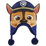 Paw Patrol 2200001836Chase Character Junior gorro con orejas de efecto 3d