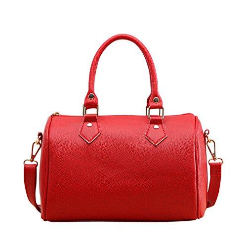 Grande promozione!!borse donna tracolla,borse da spiaggia,borse tote,donna elegante borsa da pelle pu,borse moschino,borse donna grandi di marca,borse donna elegante (rosso)