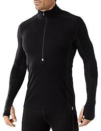 Smartwool PhD Light Zip T-shirt pour homme-Noir