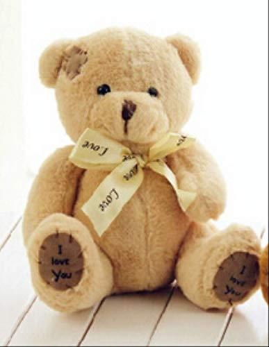 AYQX Hochwertige super schöne Teddybär Plüschtiere & Plüschpuppen Hochzeitsdekoration Baby Spielzeug Baby Geschenk 18cm 18cm A -