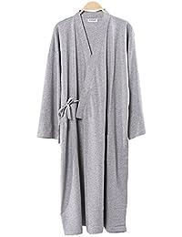 c4081bee89e1 Fancy Pumpkin Robes de Style Japonais pour Hommes Pyjamas en Kimono Robes  de soirée Peignoirs en