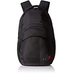 Gear 35 ltr Black and Red Casual Backpack (BUSCLMBER0109)